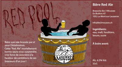 Etiquette Red Pool